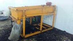 Peneira Vibratória com motor trifasico