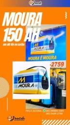 Super promoção de Bateria Moura 150 ah
