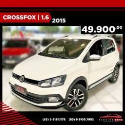 Título do anúncio: Crossfox 1.6 Completo - 2015 ( Paraíba Auto )