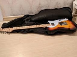 Guitarra Telecaster Thinline SX Ash Vintage Series