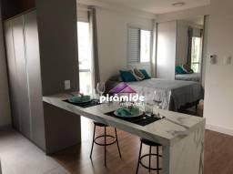 Título do anúncio: Apartamento com 1 dormitório para alugar, 32 m² por R$ 1.900,00/mês - Jardim Aquarius - Sã