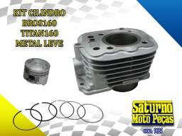 Título do anúncio: Kit Cilindro Bros 160/ Titan 160 Metal Leve (9825)