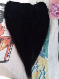Vendo cabelo humano  aquecina  no tik  tak   , bem logo bati pra baixo das costa