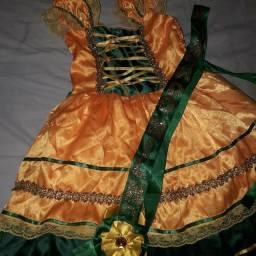 Vestido quadrilha rainha do milho