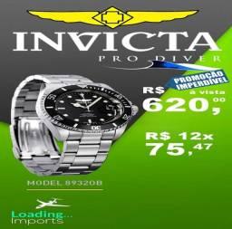 Título do anúncio: Invicta Pro Diver Bezel Black Dial 8932OB