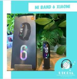 Xiaomi Mi band 6 original! Nova e lacrada! Oxímetro  e prova d?água!