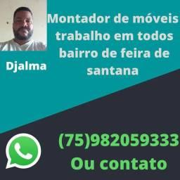 Título do anúncio: Montador de móveis Whatsapp *
