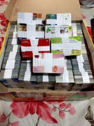 Coleção de cartões telefone