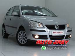 Volkswagen Polo Hatch 1.6 i-Motion, Completo C/Couro!