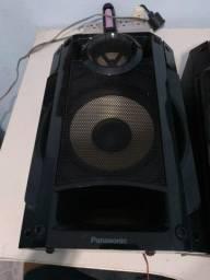 Título do anúncio: caixa de som Panasonic