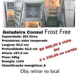 Geladeira Frost Free Cônsul