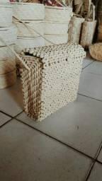 Bolsa de palha quadrada fechada (atacado)