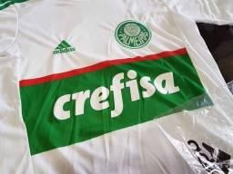 Camisa Palmeiras 2016 - Branca/Verde - Tamanho P