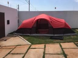 Barraca de camping importada