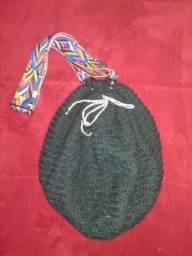 Bolsa saco crochê