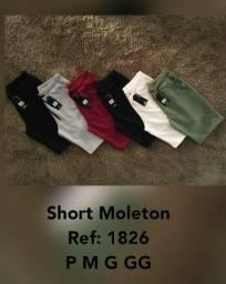 Short moleton e tactel