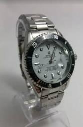 27f974785e3 Relógio Rolex Aço Fundo Branco Novo Frete grátis