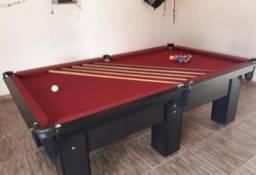 Mesa de Bilhar e Sinuca Residencial Mod tu6374