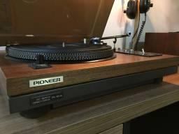 Toca disco Pioneer PL-51A