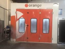 Cabine de Pintura Orange platinum