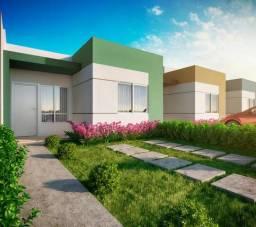 Casa no Residencial Horto Santa Maria - 2 qtos - Subsidio de até 31 Mil + Cartório Grátis