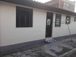 Casa com 1 dormitório para alugar, 40 m² por r$ 450,00/mês - capão raso - curitiba/pr