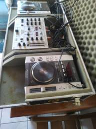 2 CDJ200 Pionner + Mixer Behringer DJX400