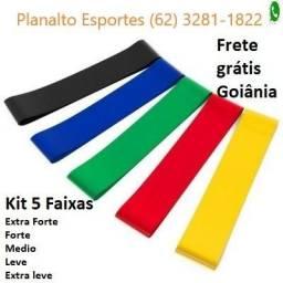 Kit Faixas Elásticas Mini Band C/ 5 Peças Whatsapp 3281-1822