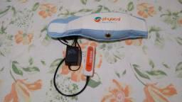 Cinto Redutor Massage Belt Physical (1 mês de uso)  cor azul<br><br>