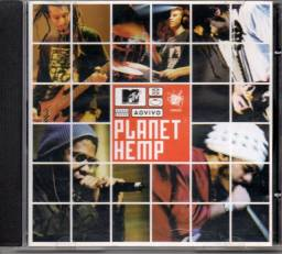 CD - MTV ao vivo - Planet Hemp