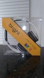 Fone original Headphone Brigth R$ 44,00