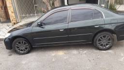 Vendo Civic LXL 2006 Completo + multimídia