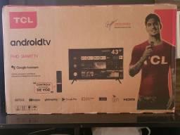 """Tv Smart 43"""" TCL - Nova Lacrada c/ NF"""