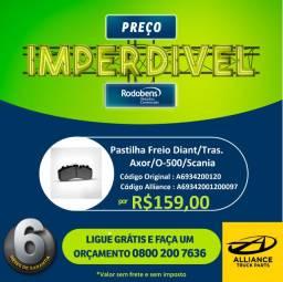 Pastilha Freio Dianteira/Traseira Mercedes Axor/O500/Scania comprar usado  São José do Rio Preto