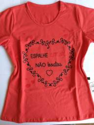 Tshirt Femininas leia o anúncio