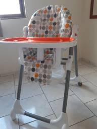 Cadeira de Alimentação Alta Snack da Kiddo!
