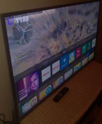 Tv Smart 50 polegadas 4k tela cristal ultra HD com HDR