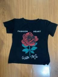 Linda T-shirt - em Malha e Algodão