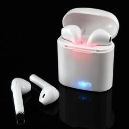 Fone de ouvido Bluetooth I7S TwS+ Mini - IOS e Android