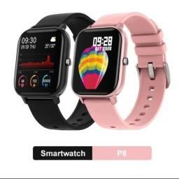 SmarSmartwatch P8 FitnessEsportivo Relógio inteligente totalmente sensível ao toque