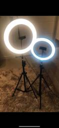 Ring light NOVOS 10,12,13,14 COM TRIPÉ 2.10m