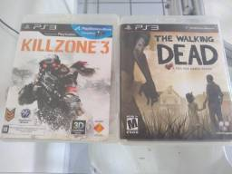 Vendo Jogos de PS3 - The Walking Dead e Killzone 3