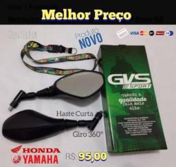 Retrovisor GVS para Honda e Yamaha