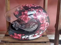 Capacete peels blossom flor de cerejeira