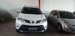 Toyota rav-4 2.0 4X4 automatica 2015-2015 branco perolizado único dono com teto solar