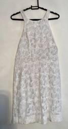 Vestido branco réveillon