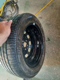 Estepe com pneu
