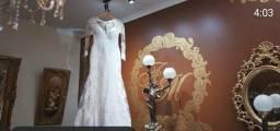 Vestido de noiva confeccionado por Pablo Stellai