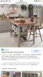 Nancy balcão Cozinha Tok stock - com tampo de vidro