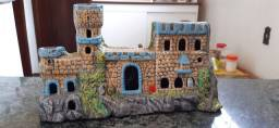 Castelo para aquário novo